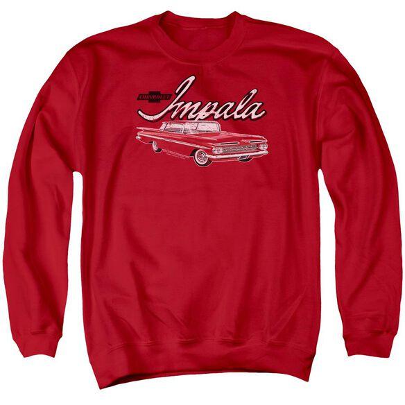 Chevrolet Classic Impala Adult Crewneck Sweatshirt