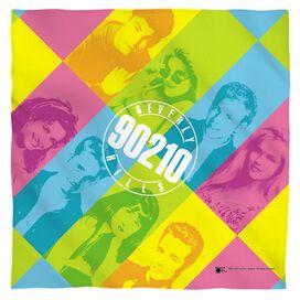 Beverly Hills 90210 Color Blocks Bandana