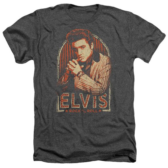 Elvis Stripes Adult Heather