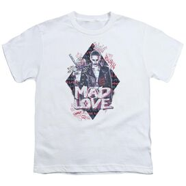 Suicide Squad Mad Love Short Sleeve Youth T-Shirt