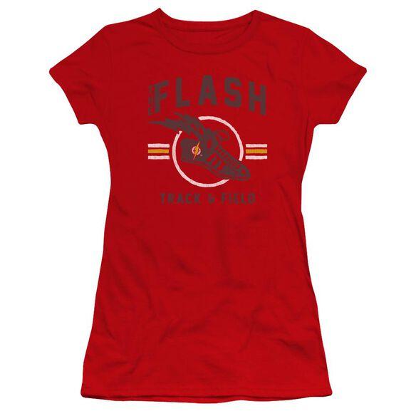 Jla Track And Field Hbo Short Sleeve Junior Sheer T-Shirt