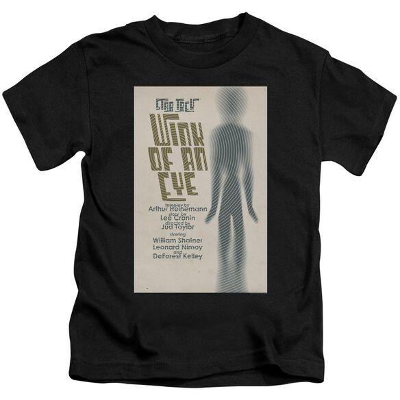 Star Trek Tos Episode 66 Short Sleeve Juvenile Black T-Shirt