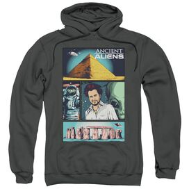 Ancient Aliens Aliens Comic Page Adult Pull Over Hoodie