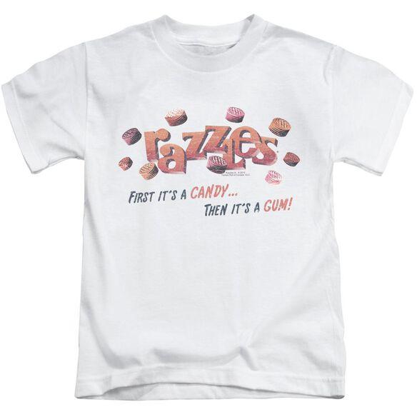 Dubble Bubble A Gum And A Candy Short Sleeve Juvenile White Md T-Shirt