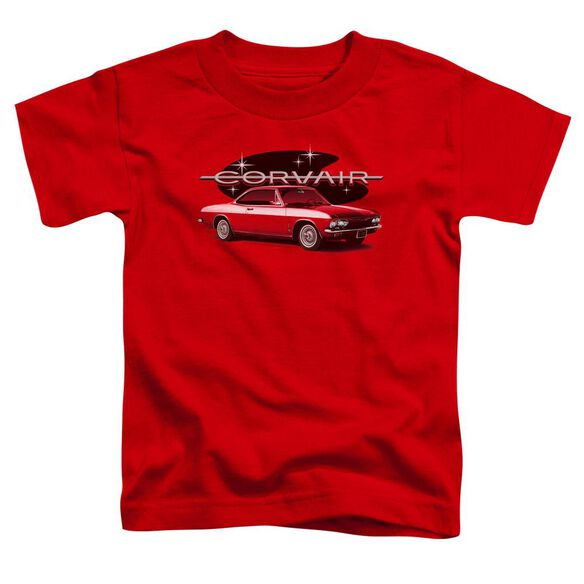 Chevrolet 65 Corvair Mona Spyda Coupe Short Sleeve Toddler Tee Red T-Shirt