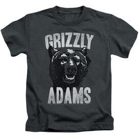 Grizzly Adams Retro Bear Short Sleeve Juvenile T-Shirt