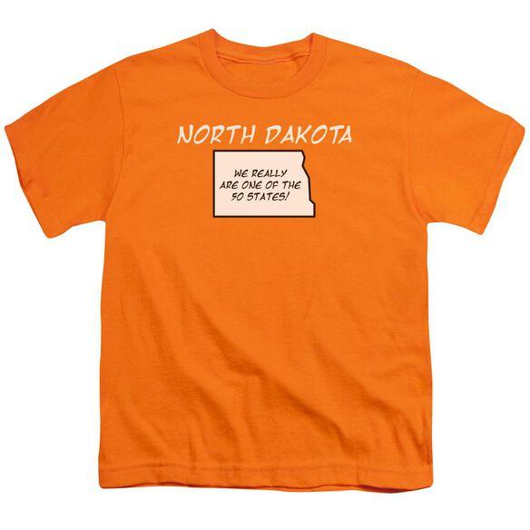 North Dakota Short Sleeve Youth T-Shirt