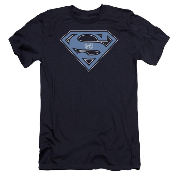 Superman U N Shield Premuim Canvas Adult Slim Fit