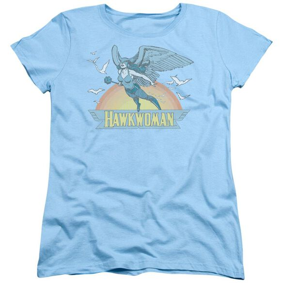 Dc Hawkwoman Short Sleeve Womens Tee Light T-Shirt