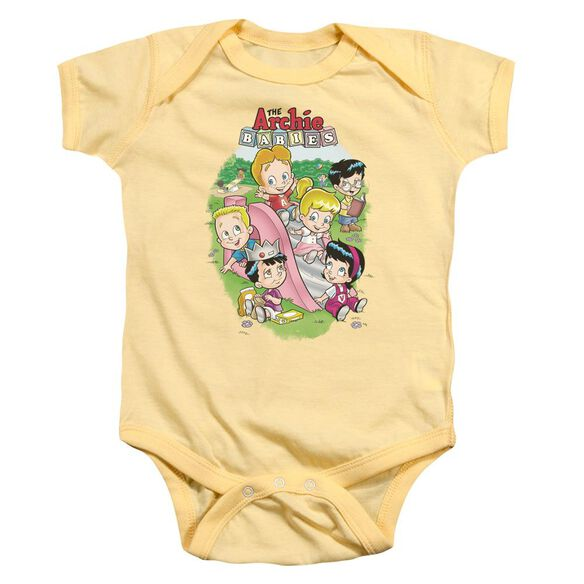 Archie Babies Time To Play Infant Snapsuit Banana Md