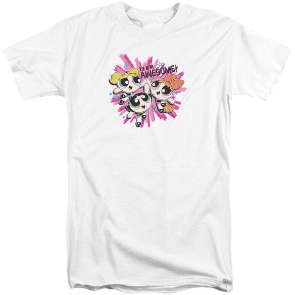 Powerpuff Girls Team Awesome Short Sleeve Adult Tall T-Shirt
