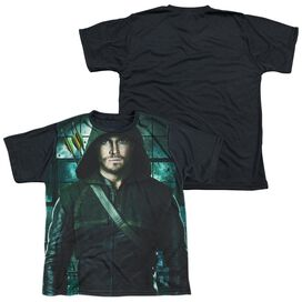 Arrow Two Sides Short Sleeve Youth Front Black Back T-Shirt