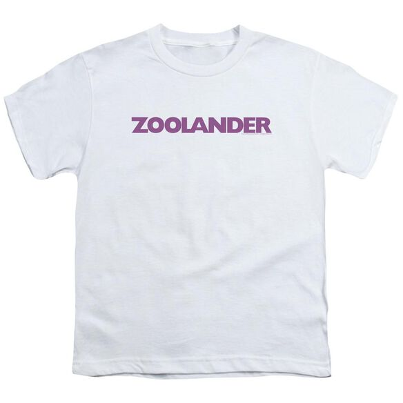 Zoolander Logo Short Sleeve Youth T-Shirt