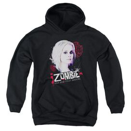 Izombie Take A Bite Youth Pull Over Hoodie