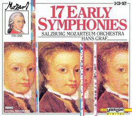 Hans Graf - Mozart: 17 Early Symphonies (Box Set)