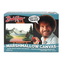 Bob Ross Marshmallow Canvas