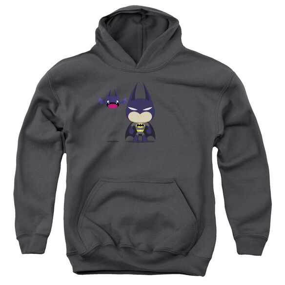 Batman Cute Batman Youth Pull Over Hoodie