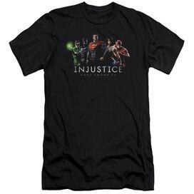 Injustice Gods Among Us Injustice League Short Sleeve Adult T-Shirt