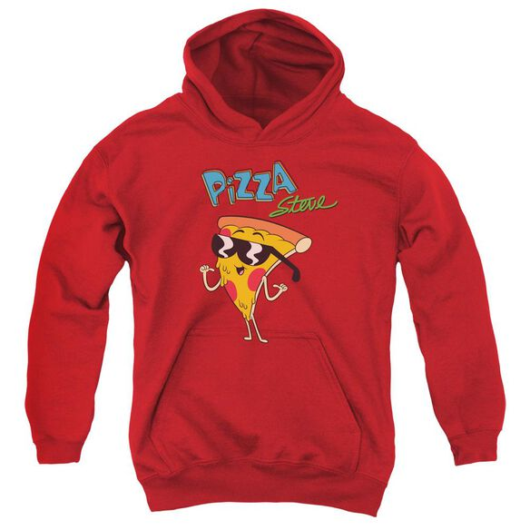 Uncle Grandpa Pizza Steve Youth Pull Over Hoodie