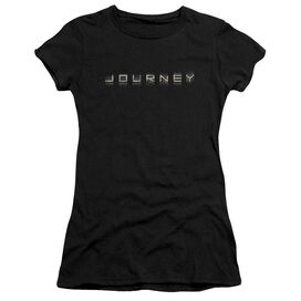 Journey Repeat Logo Short Sleeve Junior Sheer T-Shirt