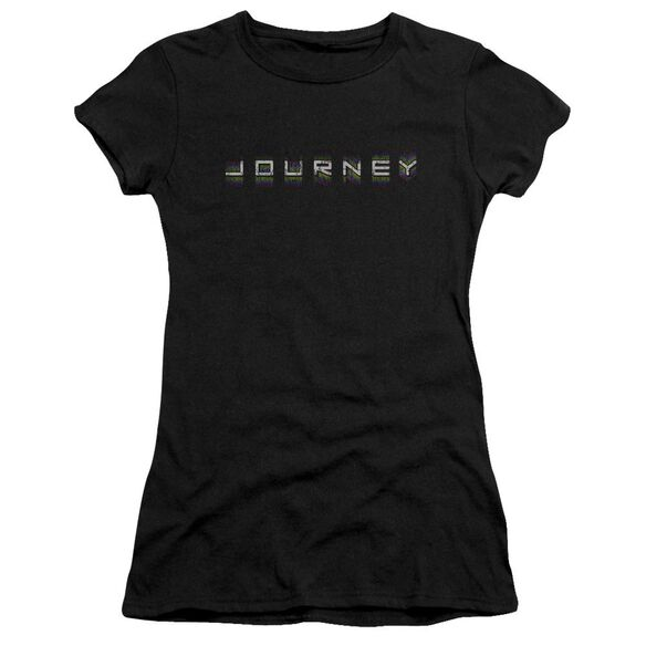 Journey Repeat Logo Short Sleeve Junior Sheer T-Shirt