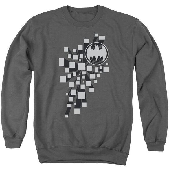 Batman Gotham D Adult Crewneck Sweatshirt