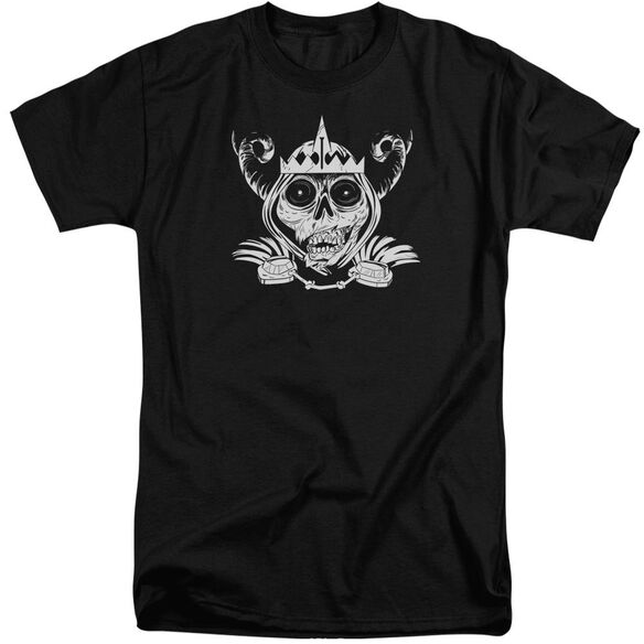 Adventure Time Skull Face Short Sleeve Adult Tall T-Shirt