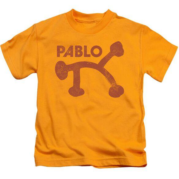 Pablo Pablo Distress Short Sleeve Juvenile T-Shirt