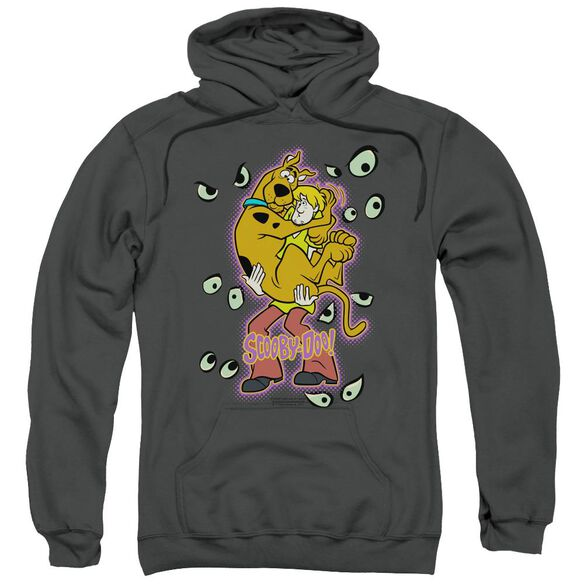 Scooby Doo Being Watched Adult Pull Over Hoodie