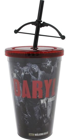 Walking Dead In Daryl We Trust Travel Cup