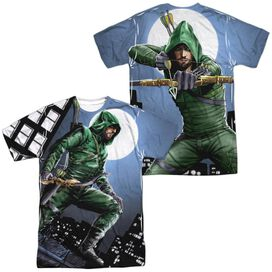 Arrow Night Watch (Front Back Print) Short Sleeve Adult Poly Crew T-Shirt