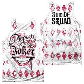 Suicide Squad Teachers Pet (Front Back Print) Adult Poly Tank Top