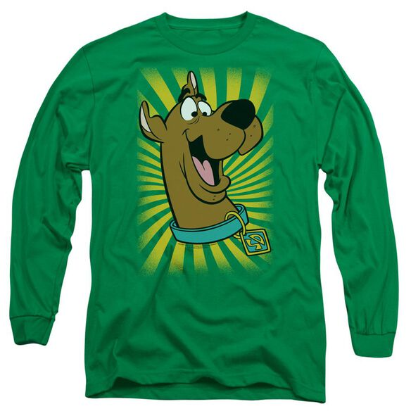 Scooby Doo™ T Shirt Long Sleeve Adult Kelly T-Shirt