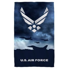 Air Force Take Off Face Hand Towel