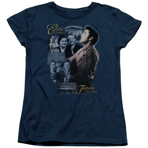 Elvis Presley Tupelo Short Sleeve Womens Tee T-Shirt
