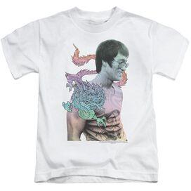 Bruce Lee A Little Bruce Short Sleeve Juvenile White Md T-Shirt