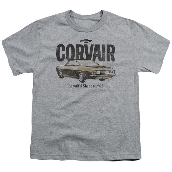 Chevrolet Retro Corvair Short Sleeve Youth Athletic T-Shirt