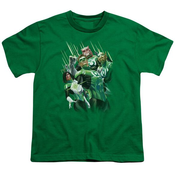 Gl Power Of The Rings Short Sleeve Youth Kelly T-Shirt