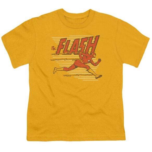 Dc Speed Lines Short Sleeve Youth T-Shirt