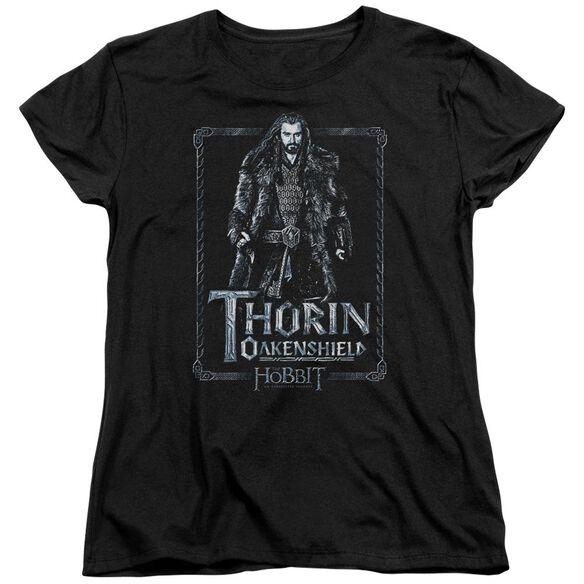 The Hobbit Thorin Stare Short Sleeve Womens Tee T-Shirt