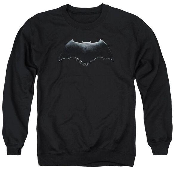 Justice League Movie Batman Logo Adult Crewneck Sweatshirt