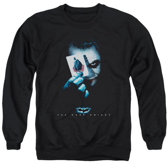 Dark Knight Joker Adult Crewneck Sweatshirt