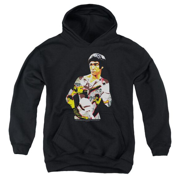 Bruce Lee Body Of Action Youth Pull Over Hoodie