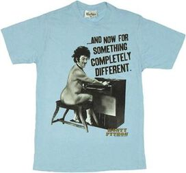Monty Python Completely Different T-Shirt Sheer