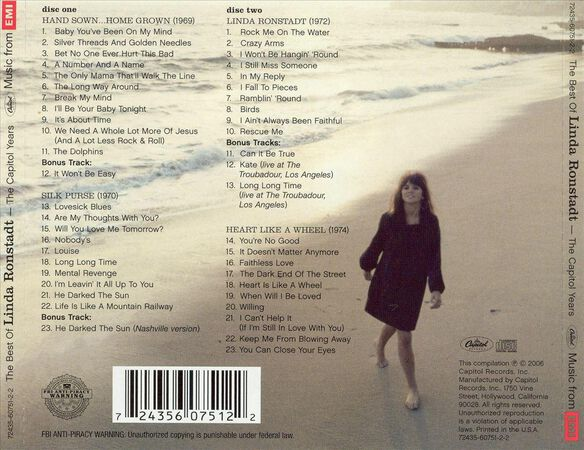 Best Of Capitol Years 2 Cd