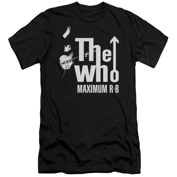 The Who Maximum R&B Premuim Canvas Adult Slim Fit