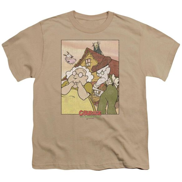 Courage Gothic Courage Short Sleeve Youth T-Shirt
