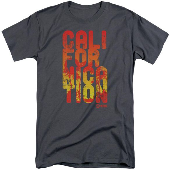 Californication Cali Type Short Sleeve Adult Tall T-Shirt