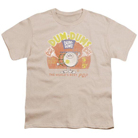 Dum Dums Best Pop Short Sleeve Youth T-Shirt