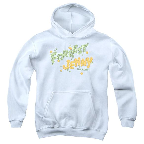 Forrest Gump Peas And Carrots Youth Pull Over Hoodie